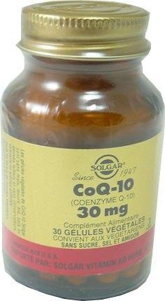 Solgar coenzime q10 30mg 30 gelules