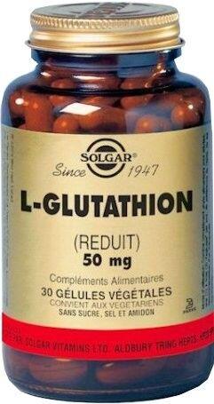 Solgar l-glutathion 50mg 30 gelules