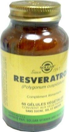 Solgar resveratrol 60 gelules
