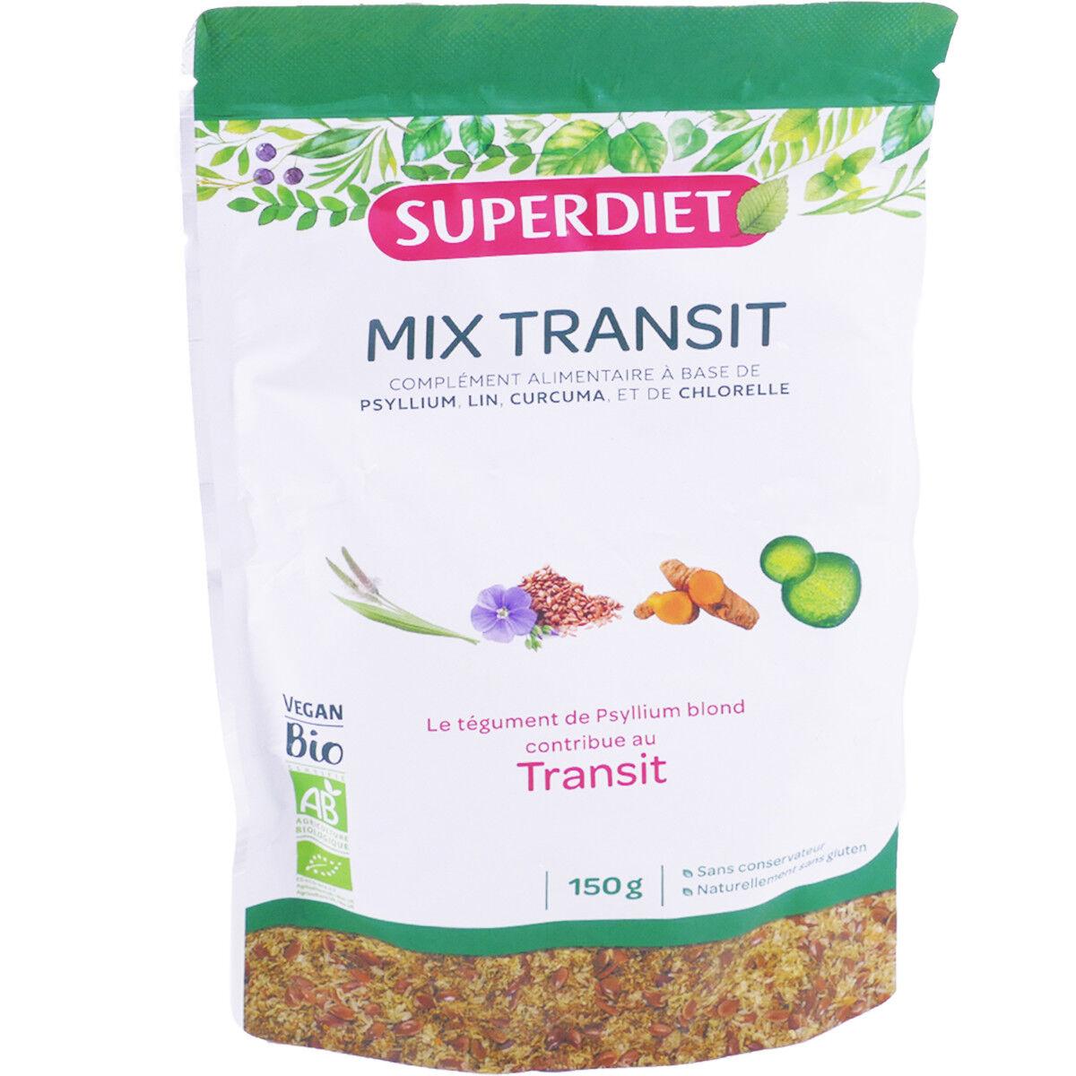 SUPER DIET Superdiet mix transit 150g bio