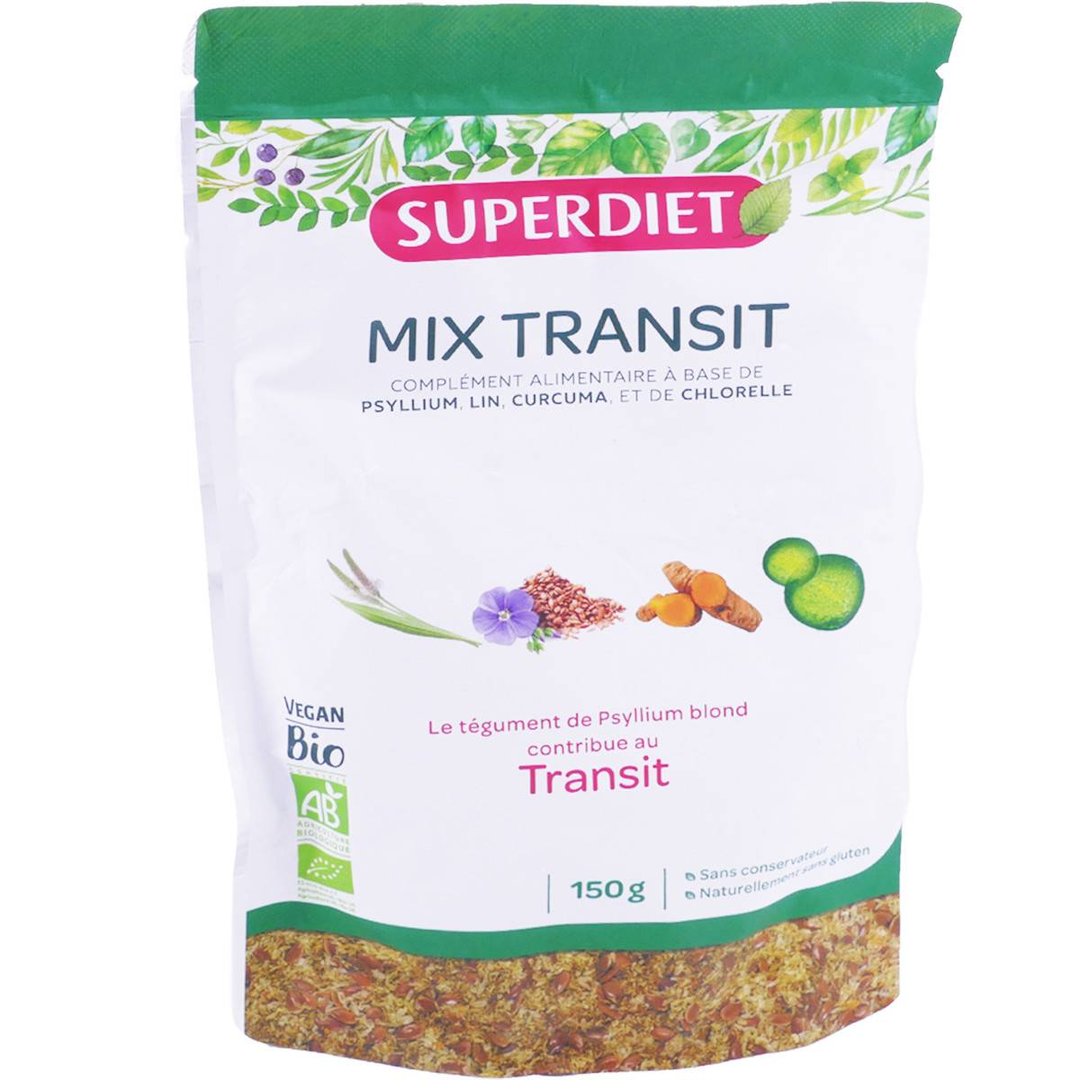 SUPER DIET Superdiet mix transit 150g bio