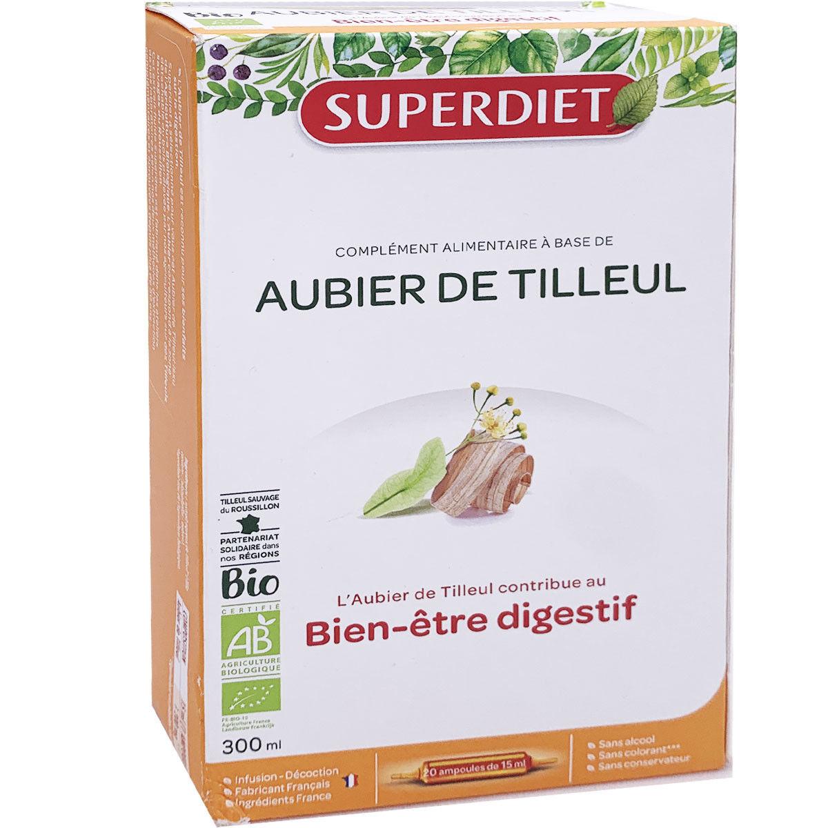 Super diet bien etre digestif 20 ampoules 15 ml bio