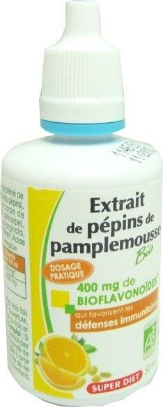 SUPER DIET Superdiet extrait de pepins de pamplemousse bio 50ml