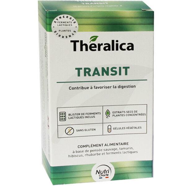 Theralica transit sans gluten 30 gelules