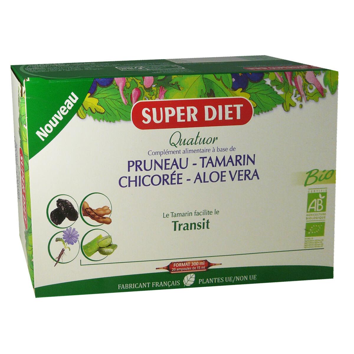 Super diet transit bio 20 ampoules 15 ml