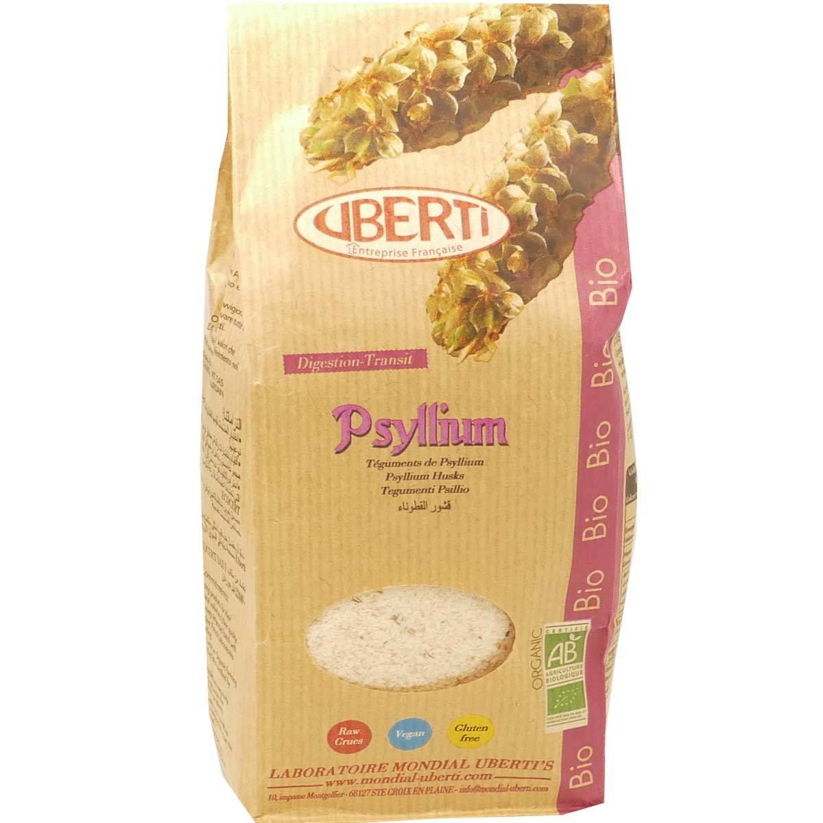 PHARM UP Uberti psyllium digestion transit bio 150 g