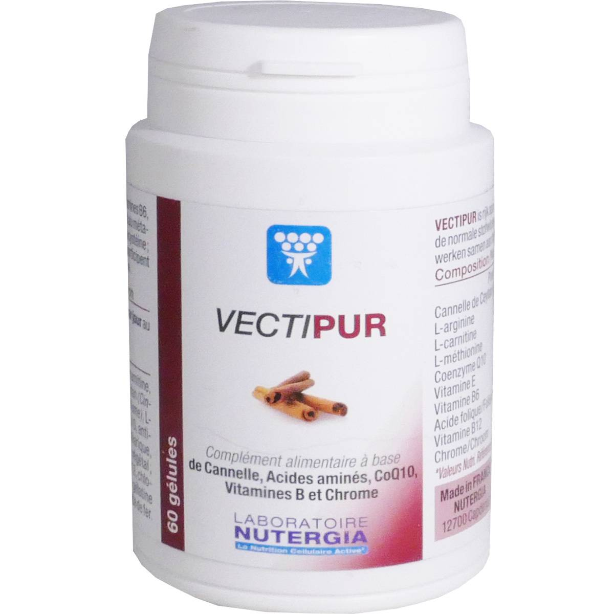NUTERGIA Vectipur cannelle 34.3 g