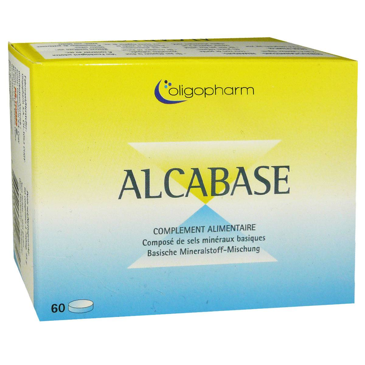 DR. THEISS Alcabase a base de sels mineraux basiques 60 comprimes