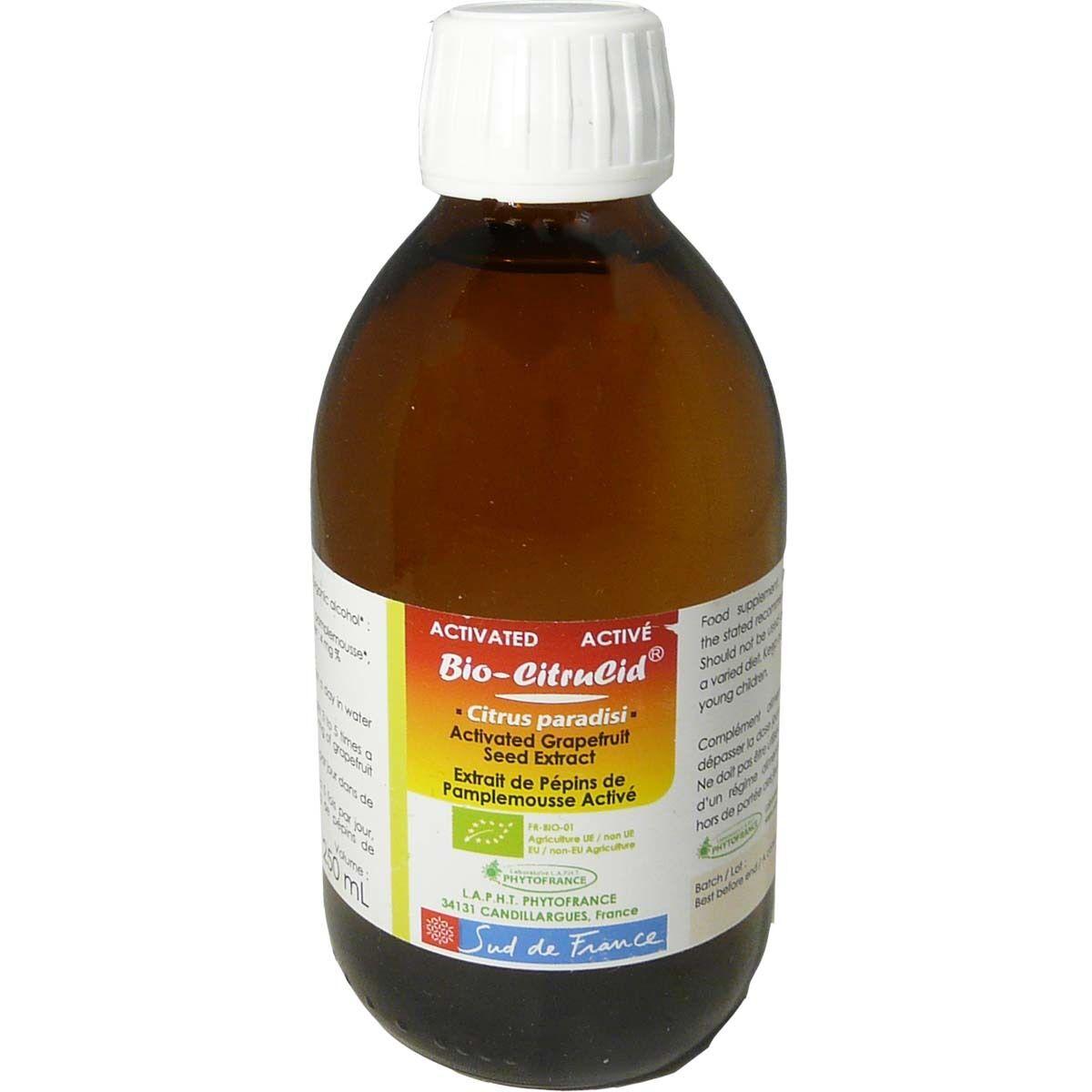 DIVERS Bio-citrucid extrait de pepin de pamplemousse 250ml