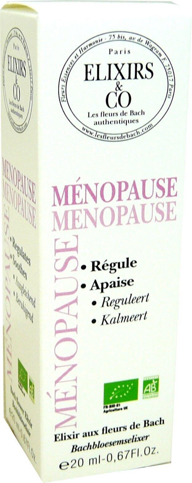Elixirs & co fleurs de bach menopause 20ml