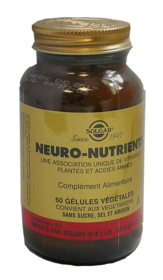 Solgar neuro-nutrients 60 gelules