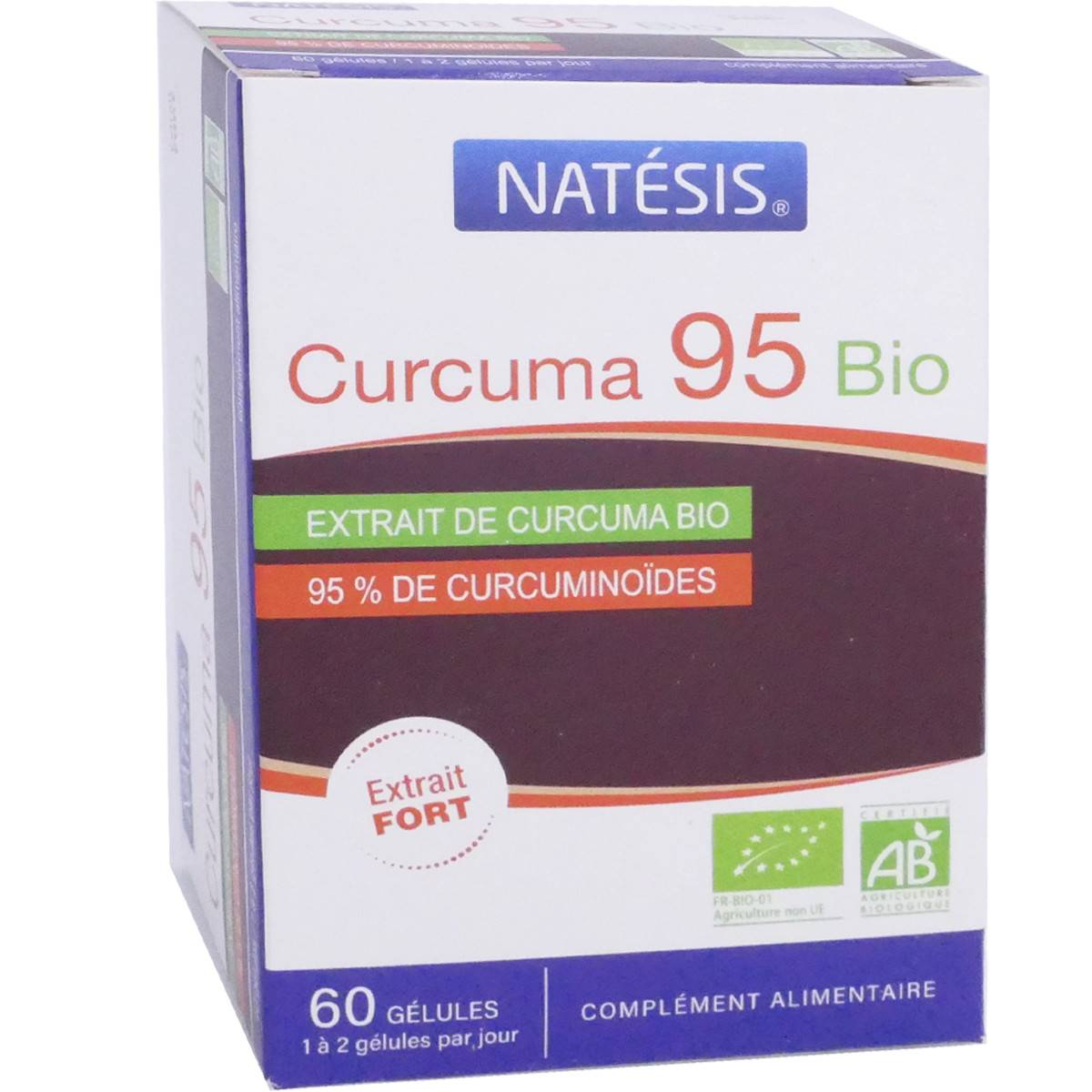 Natesis curcuma 95 bio 60 gÉlules bio