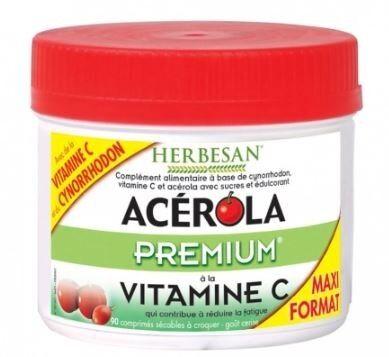 HERBESAN Acerola premium 90 comprimes herbesan