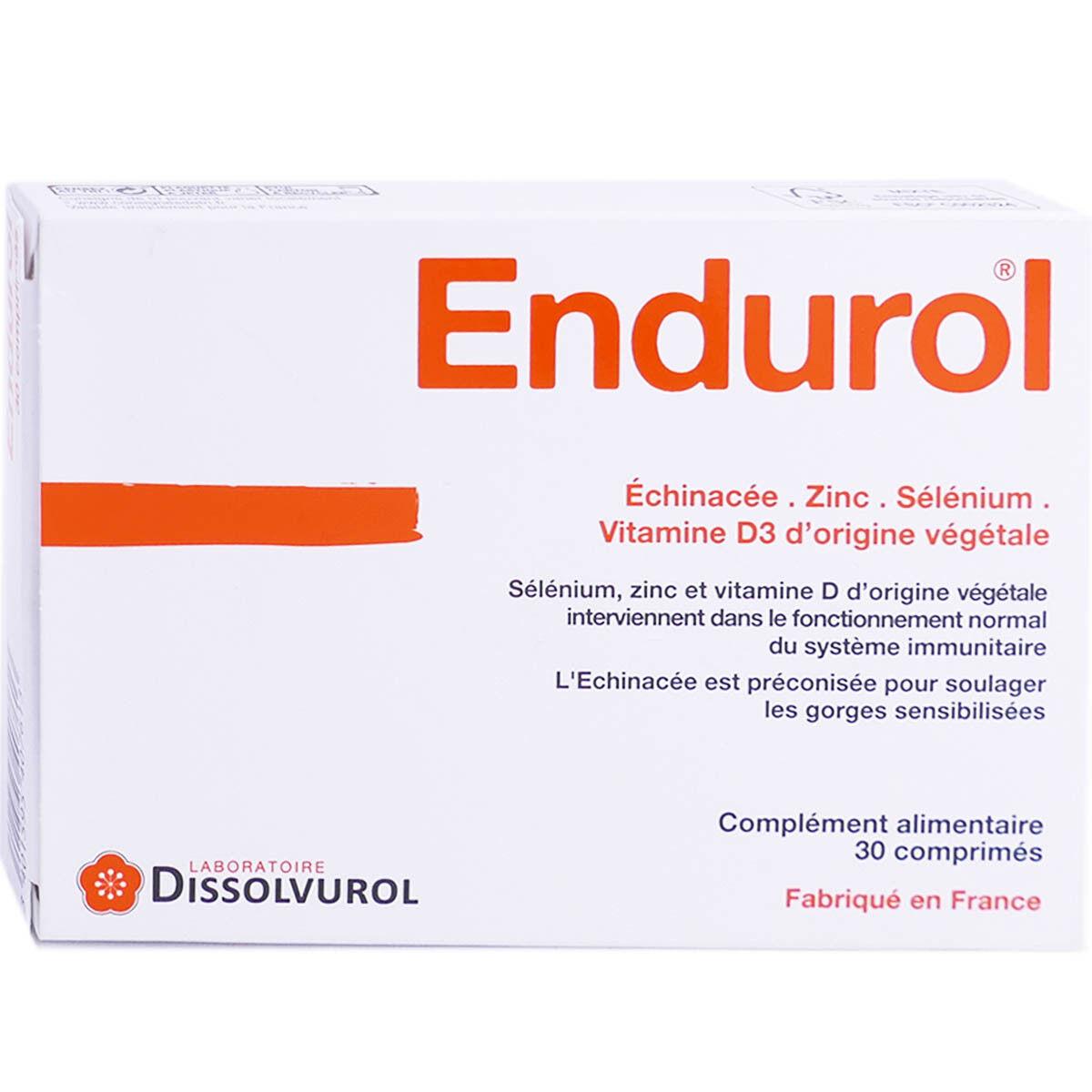 DISSOLVUROL Endurol complement alimentaire comprimes x30