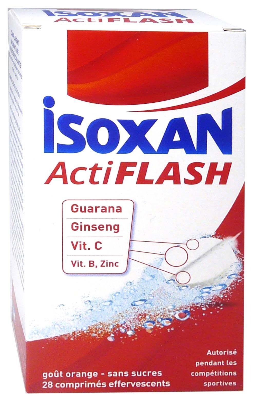 Isoxan acti flash 28 comprimes sans sucres