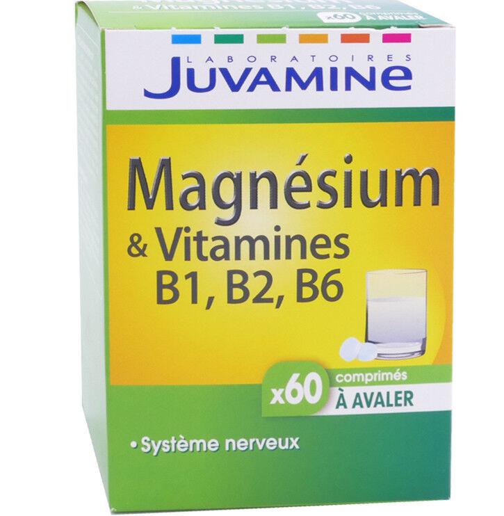JUVASANTE Juvamine magnÉsium & vitamine b1-b2-b6 x60 comprimes