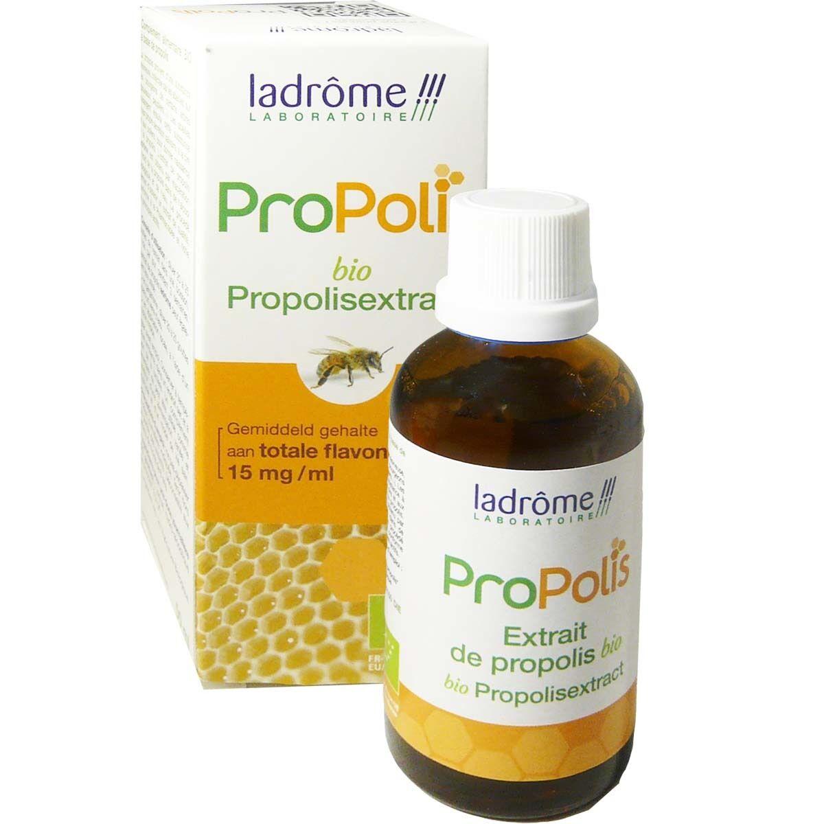Ladrome propolis extrait de propolis bio 50ml