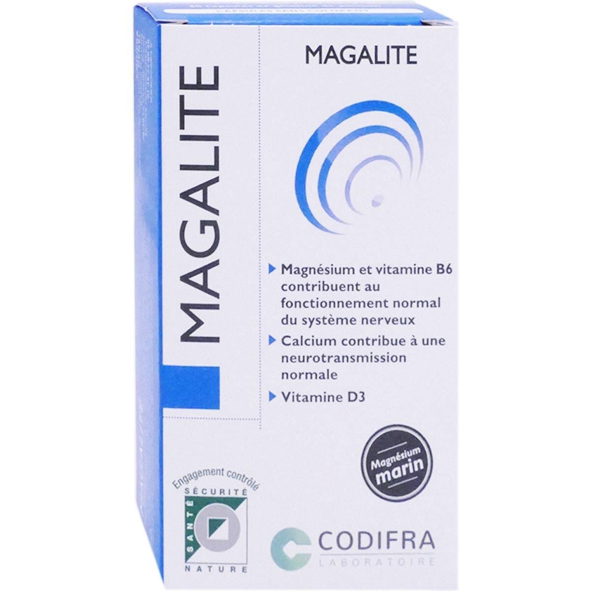 Codifra magalite magnesium marin 40 capsules