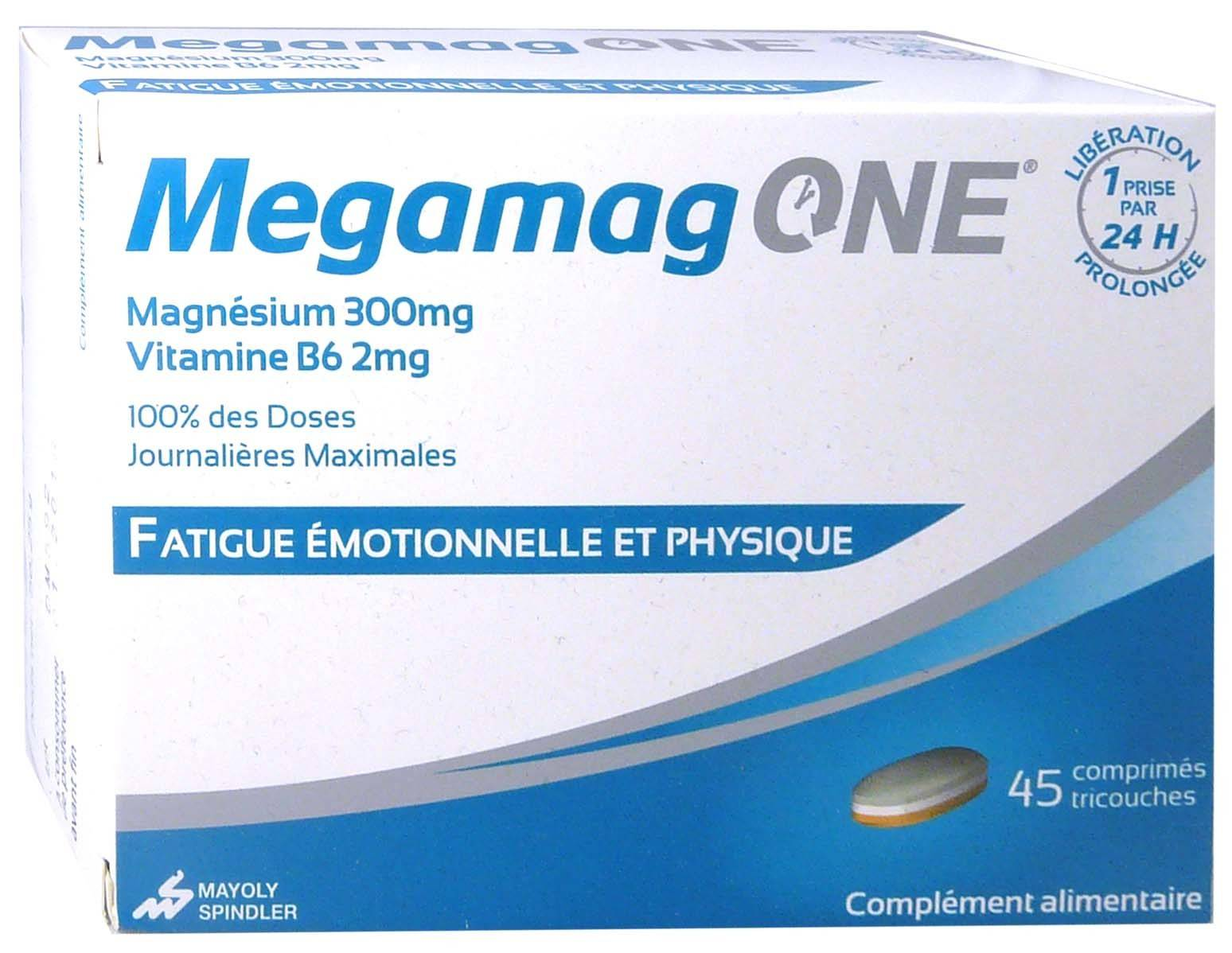 MAYOLY Megamag one  magnesium 45 comprimes