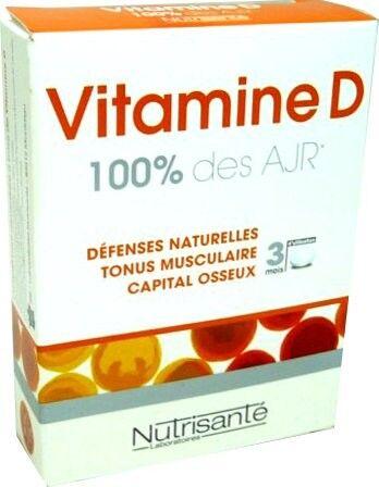 Nutrisante vitamine d 90 comprimes