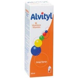 Alvityl sirop 11 vitamines 150 ml