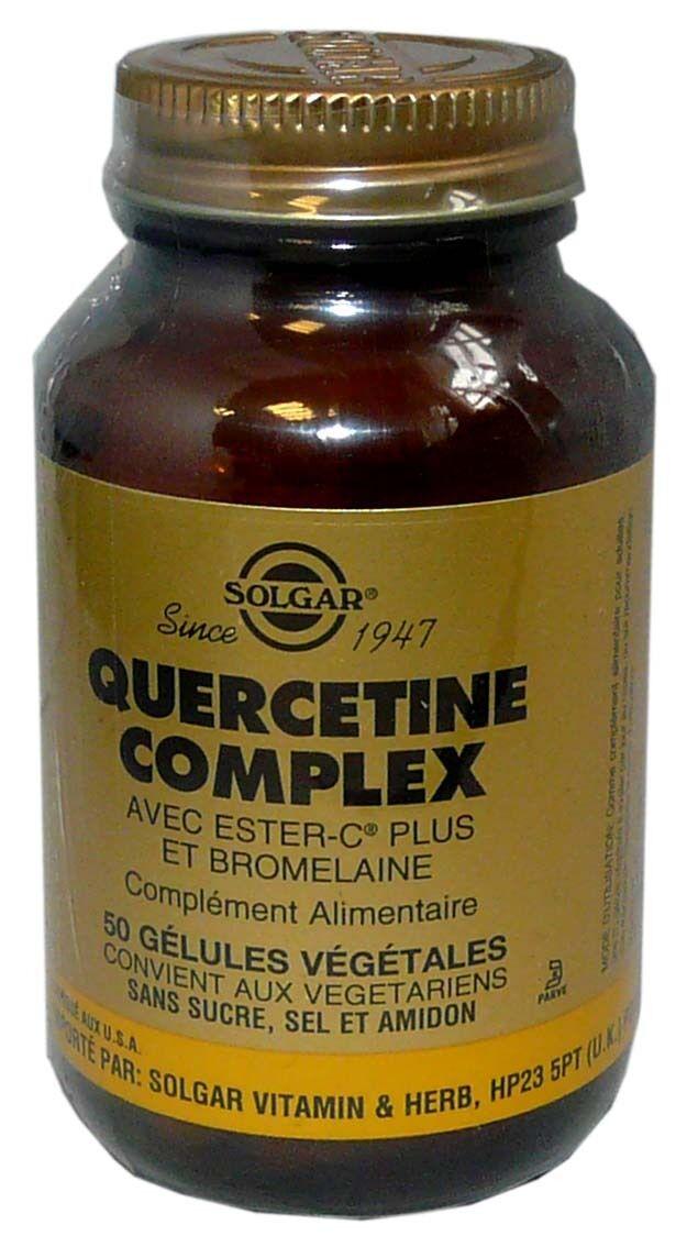 Solgar quercetine complex 50 gelules