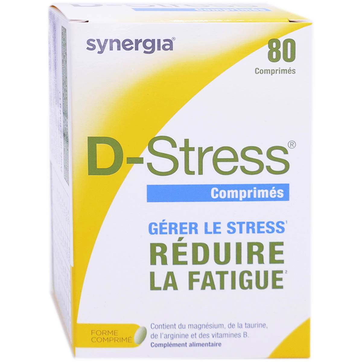 Synergia dstress 80 comprimes