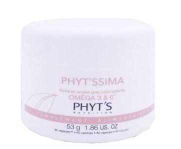 Phyt'ssima omega 3 & 6 80 capsules