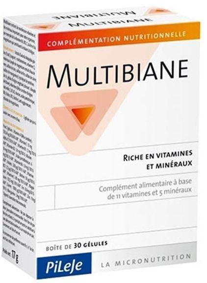 Pileje multibiane age protect 120 gelules