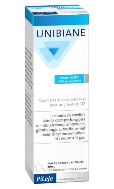 PILEJE Unibiane vitamine b12 flacon spray 20 ml