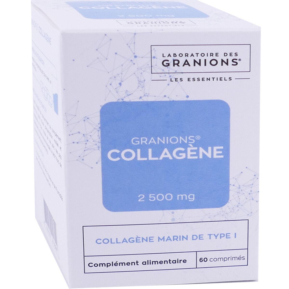 Granions collagene marin 2500mg 60 comprimes