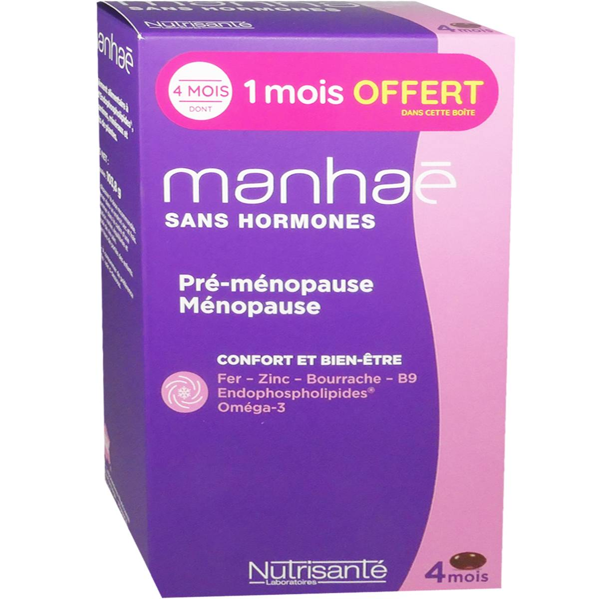 Nutrisante manhae 120 capsules cure de 4 mois