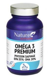 Nature attitude omega 3 premium 60 capsules