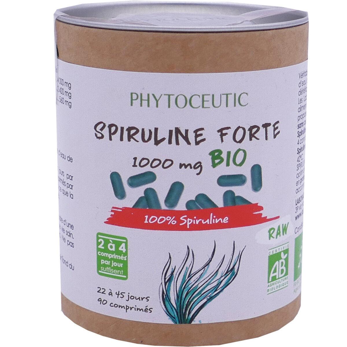 Phytoceutic spiruline forte 1000 mg bio 90 comprimes