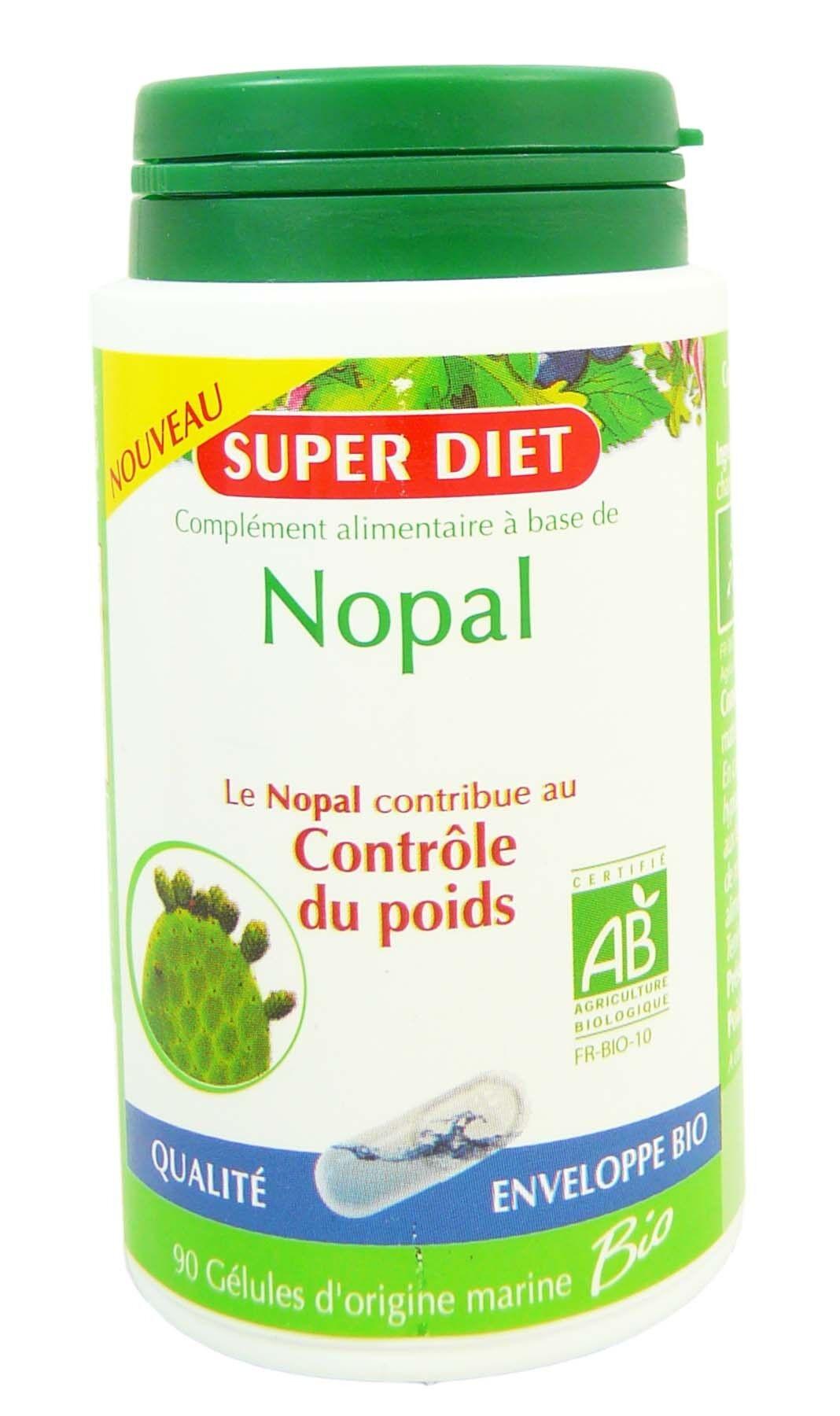 SUPER DIET Superdiet nopal controle du poids 90 gelules