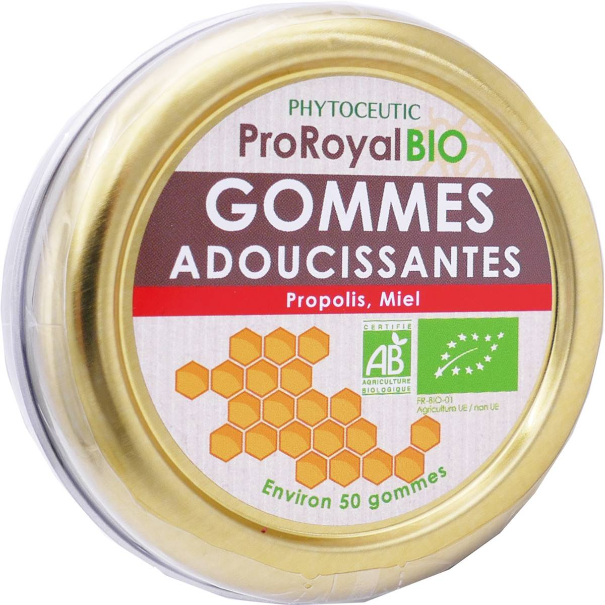 PHYTOCEUTIC Pro-royal bio gommes adoucissantes 50g