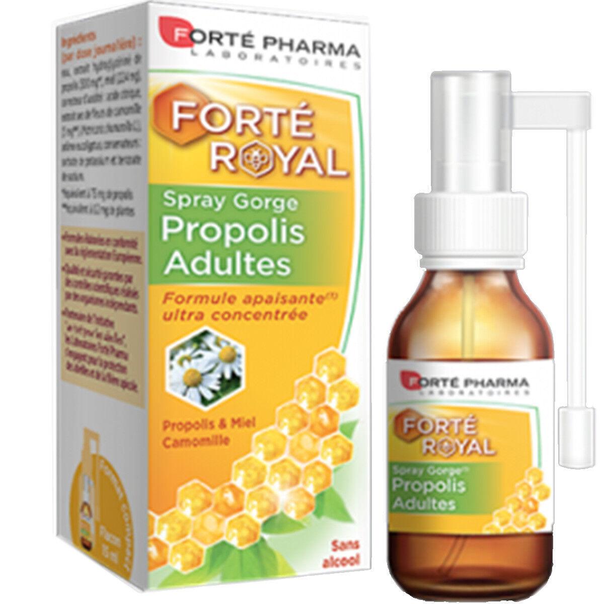 Forte pharma propolis spray gorge adoucissant 15 ml