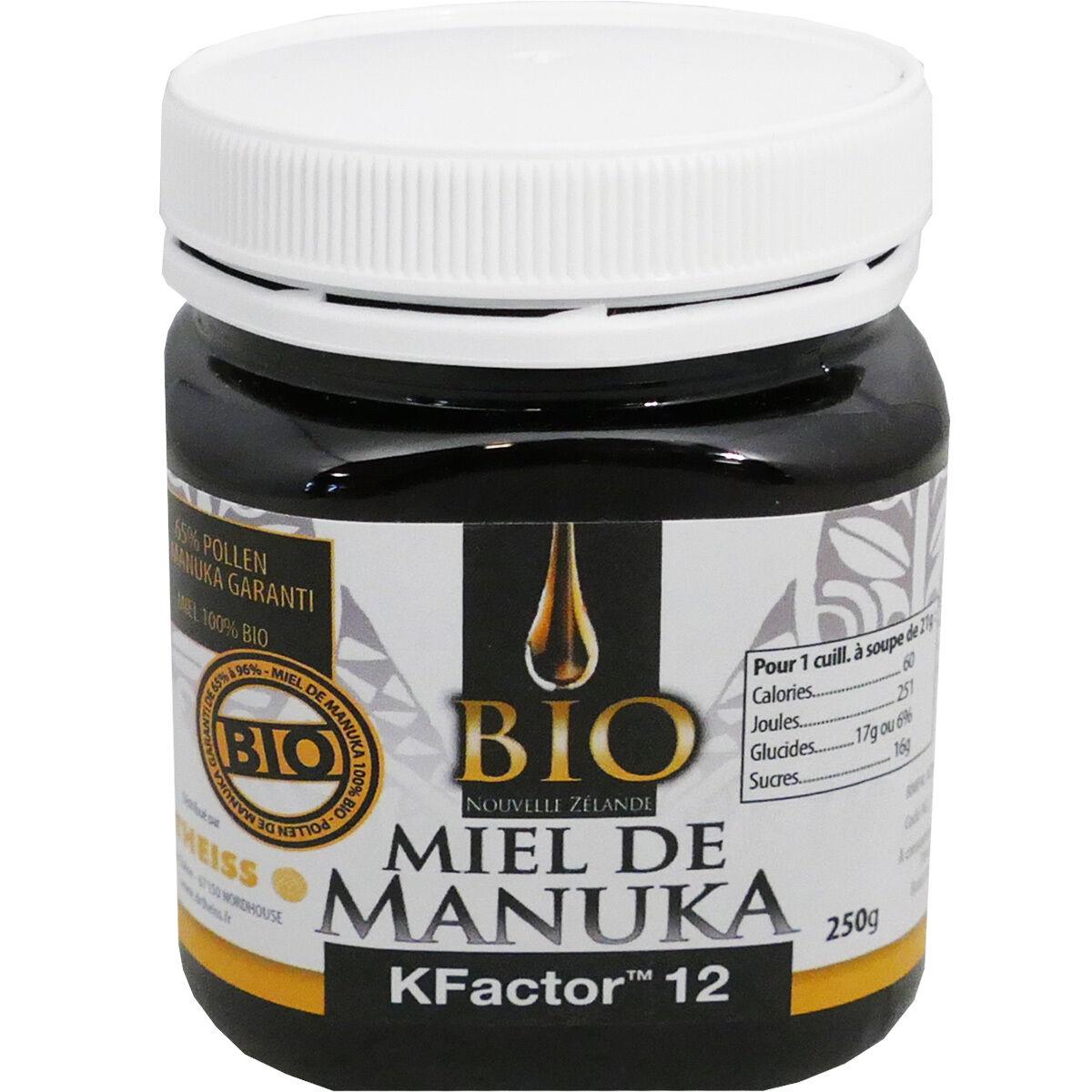 DR. THEISS Dr.theiss bio miel de manuka 250 g kfactor 12
