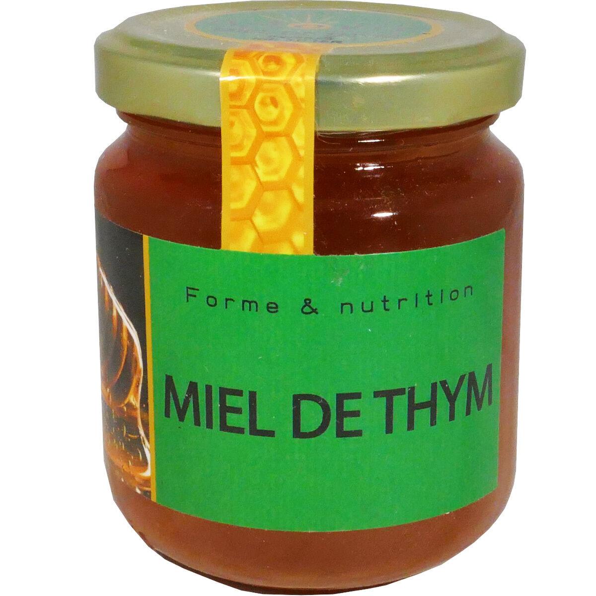 HERBALGEM Agovie miel de thym 250 g