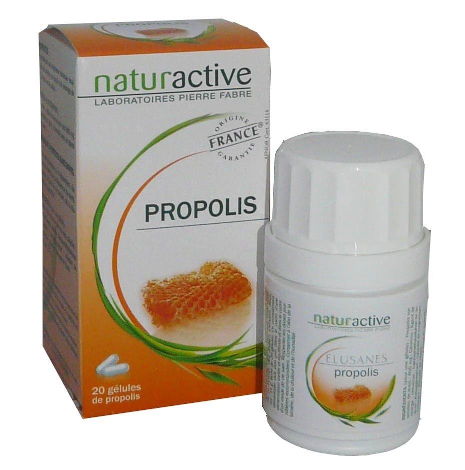 Naturactive propolis 20 gelules