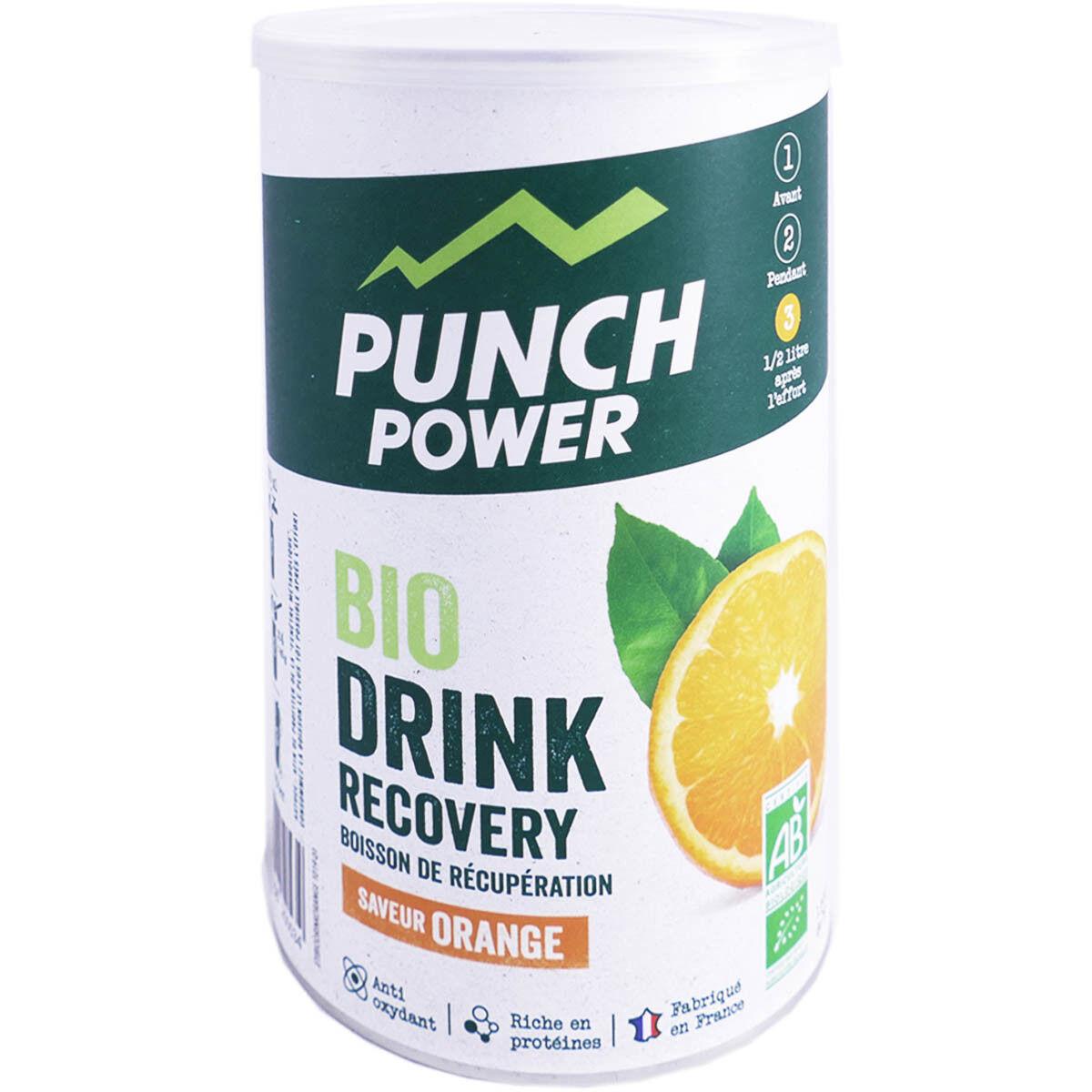 DIVERS Punch power bio boisson de recuperation saveur orange 400g
