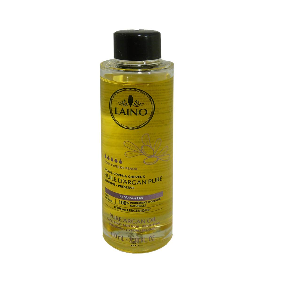Laino huile d'argan pure 100 ml