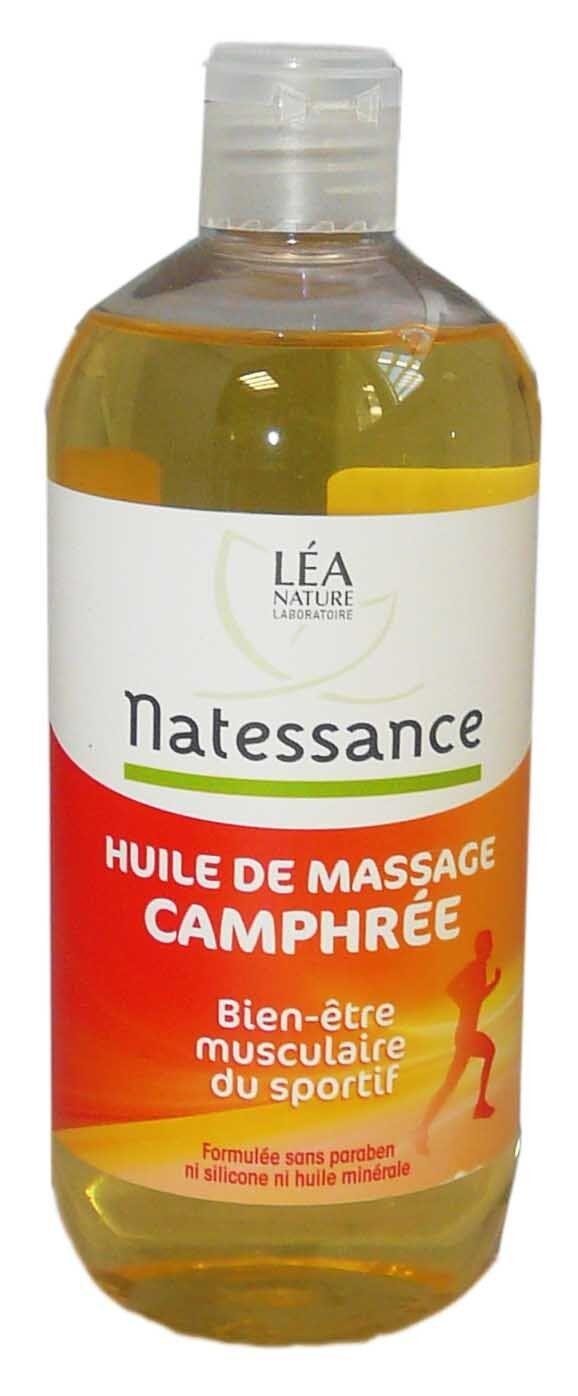 Natessance huile de massage camphree 500ml