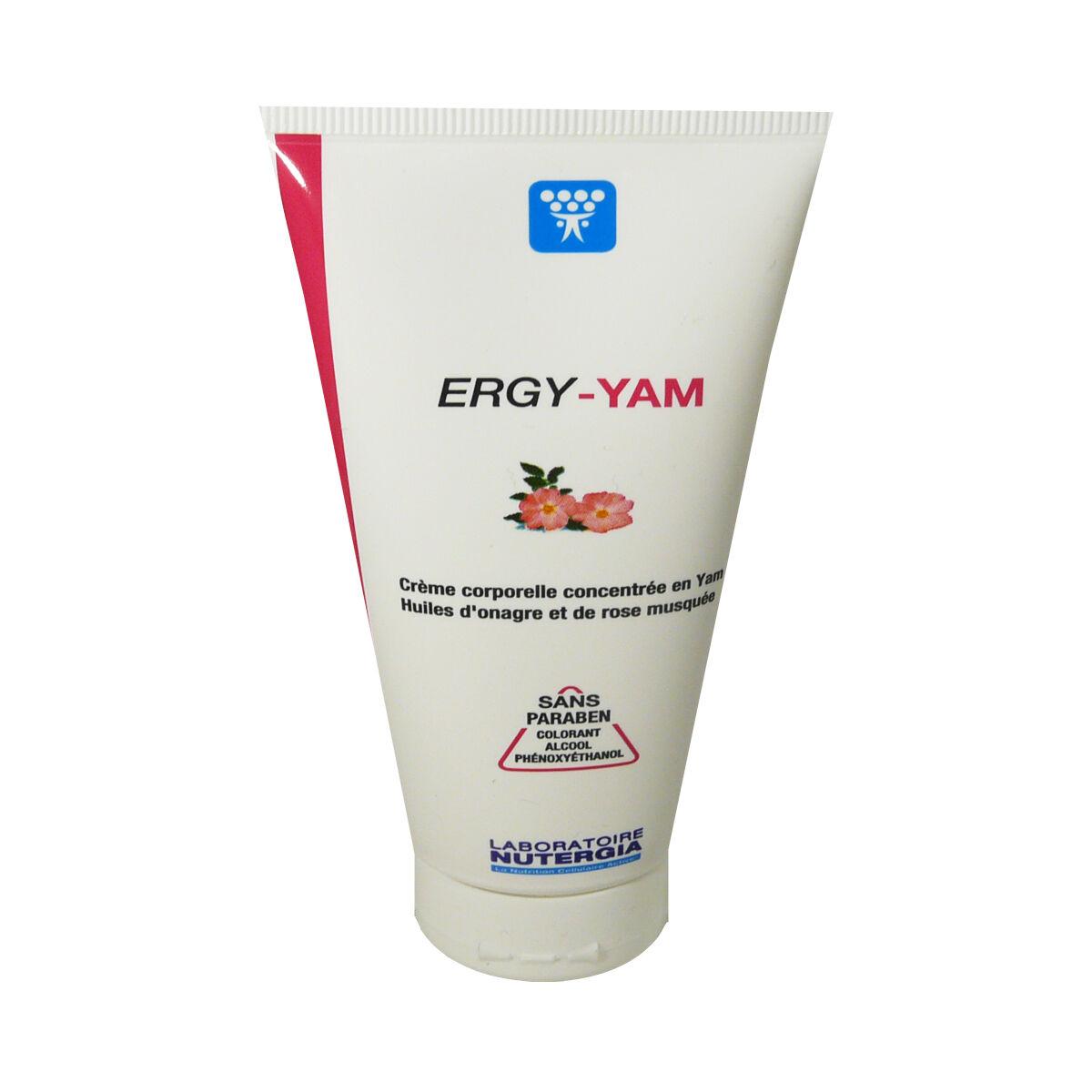 DIVERS Ergy-yam sans paraben creme huile d'onagre et de rose musquee 100 ml