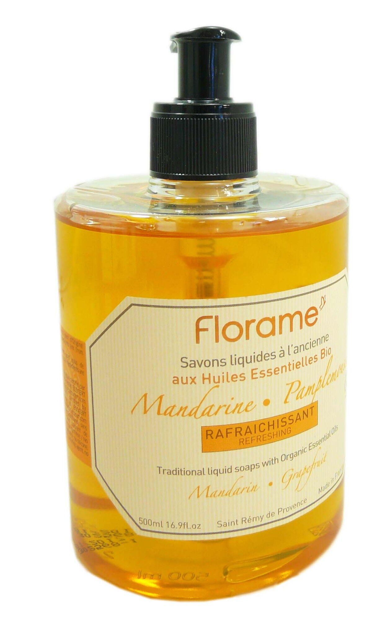 Florame savon liquide mandarine 500ml