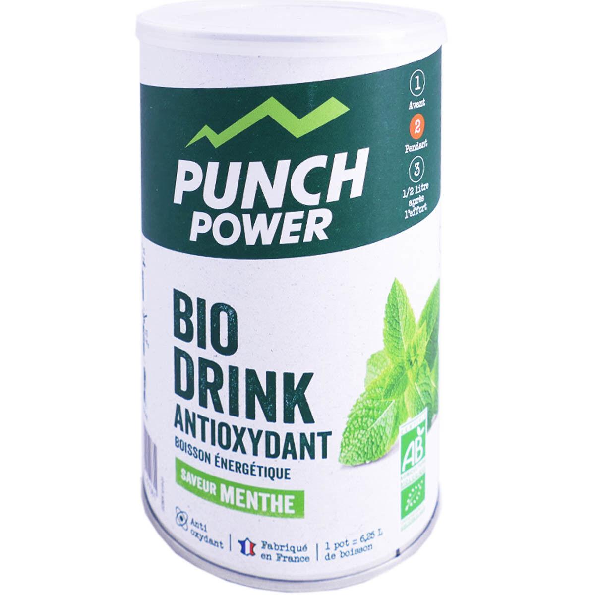 Punch power bio boisson energetique saveur menthe 500g