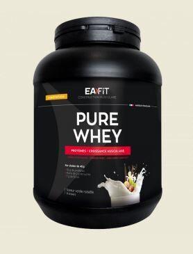 Eafit pure whey saveur vanille noisette 750 g