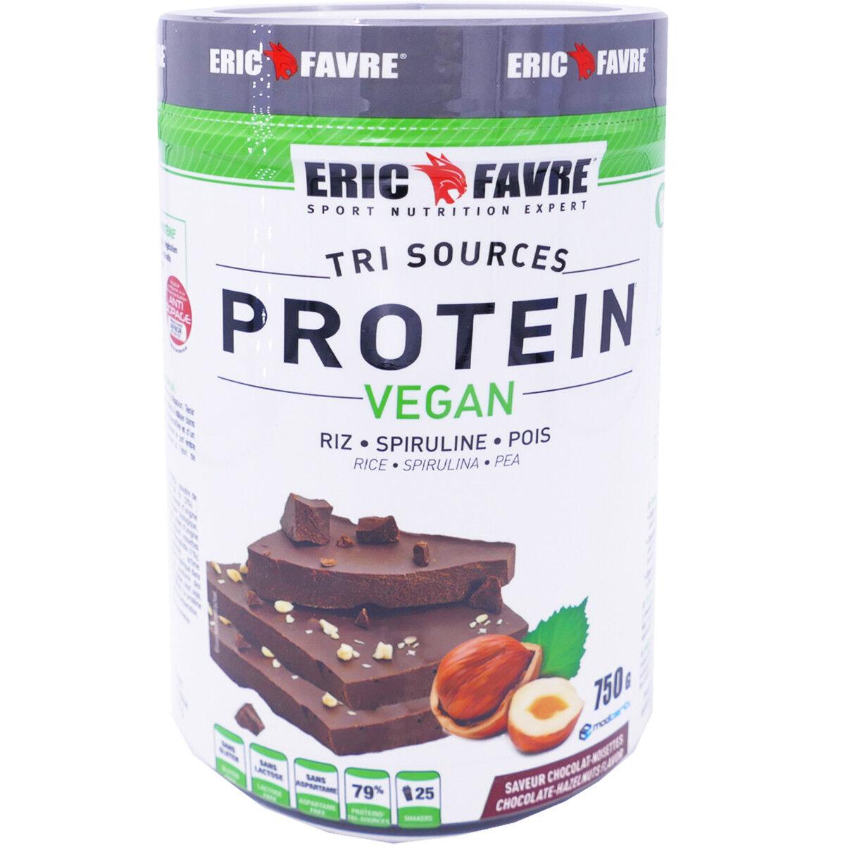 Eric favre protein vegan chocolat noisettes 750g
