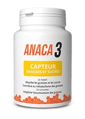 Anaca 3 capteur graisses et sucres 60 gelules