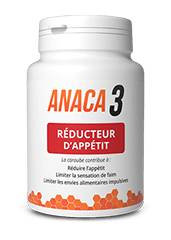 Anaca 3 reducteur d'appetit 90 gelules